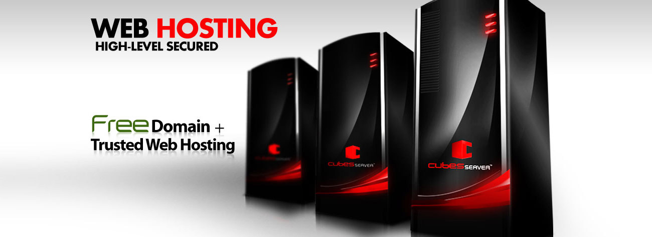 Web Hosting, High-level secured, Free Domain + Trusted Web Hosting